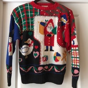 Cutest Ugly Vintage Christmas Sweater